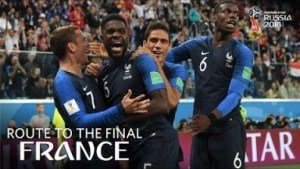 Video: FRANCE - Route To The Final! (FIFA World Cup 2018)